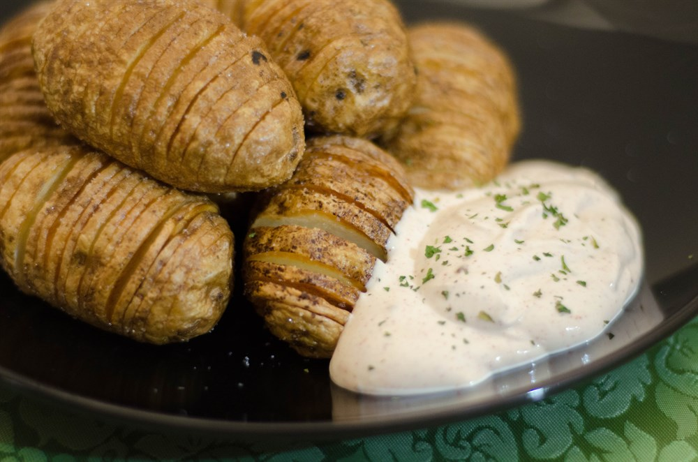 Picture of Lime Thyme Hasselback Potatoes